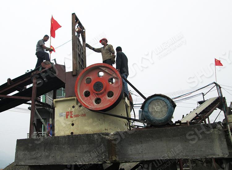 碎石机设备