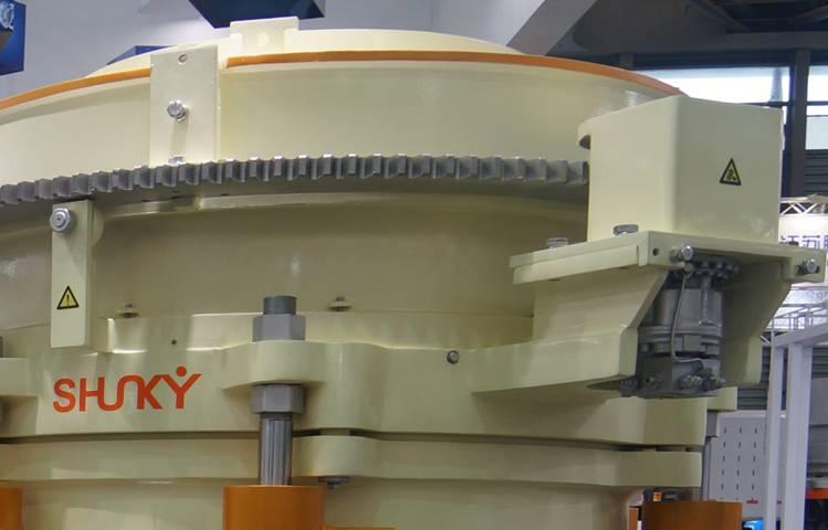 HPS多缸液压圆锥破碎机排料口调节